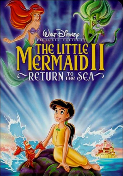 db9ed0e7fe0b Rent The Little Mermaid II  Return to the Sea (2000) on DVD and Blu-ray -  DVD Netflix