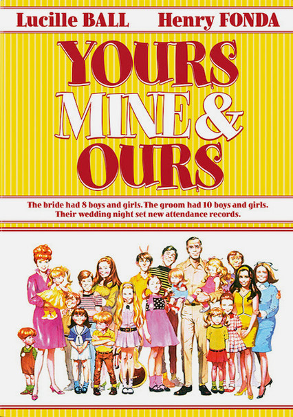 Rent Yours, Mine and Ours (1968) on DVD and Blu-ray - DVD Netflix