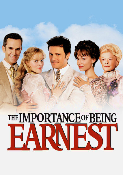 Rent The Importance Of Being Earnest 2002 On Dvd And Blu Ray Dvd