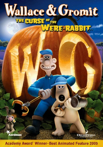 Rent Wallace & Gromit: The Curse of the Were-Rabbit (2005) on DVD