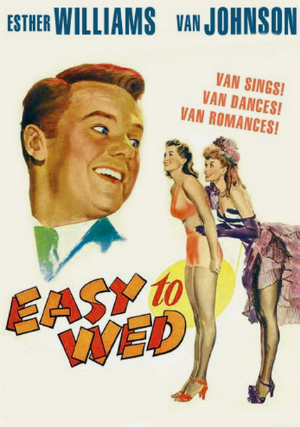 Easy to wed Van Johnson Esther Williams movie poster