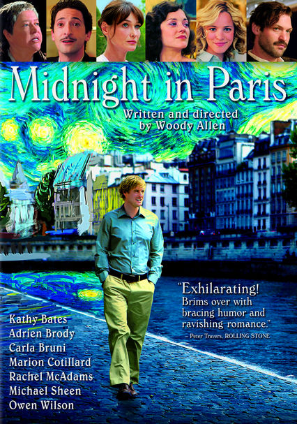 Rent Midnight in Paris (2011) on DVD and Blu-ray - DVD Netflix