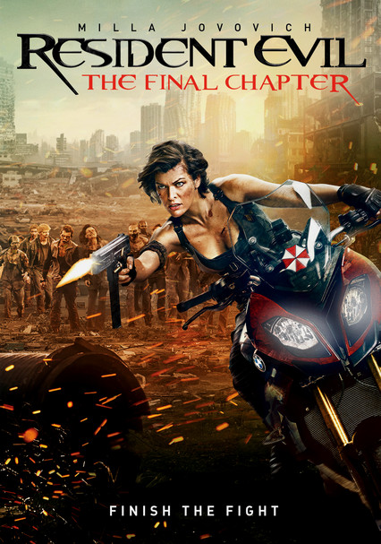 Rent Resident Evil The Final Chapter 2017 On Dvd And Blu Ray
