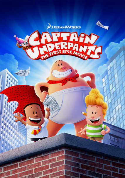 ce88c8265b Rent Captain Underpants  The First Epic Movie (2017) on DVD and Blu-ray -  DVD Netflix
