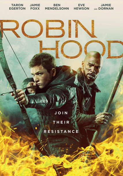 Rent Robin Hood (2018) on DVD and Blu-ray - DVD Netflix