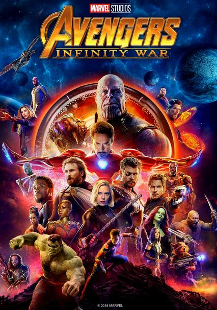 Rent Avengers Infinity War 2018 On Dvd And Blu Ray Dvd Netflix