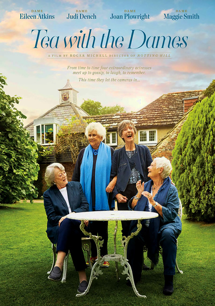 d9087c9c6836 Rent Tea with the Dames (2018) on DVD and Blu-ray - DVD Netflix